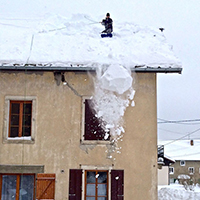 Расценки уборка снега с крыш